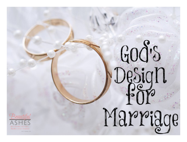 God S Design For Marriage Verses