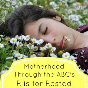 motherhood-rested