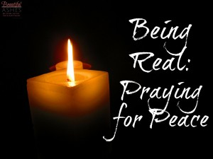 This week I'm praying for peace in my home.