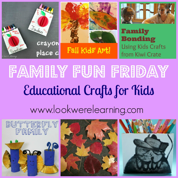 Crafts aren't all about fun! They can be educational too!