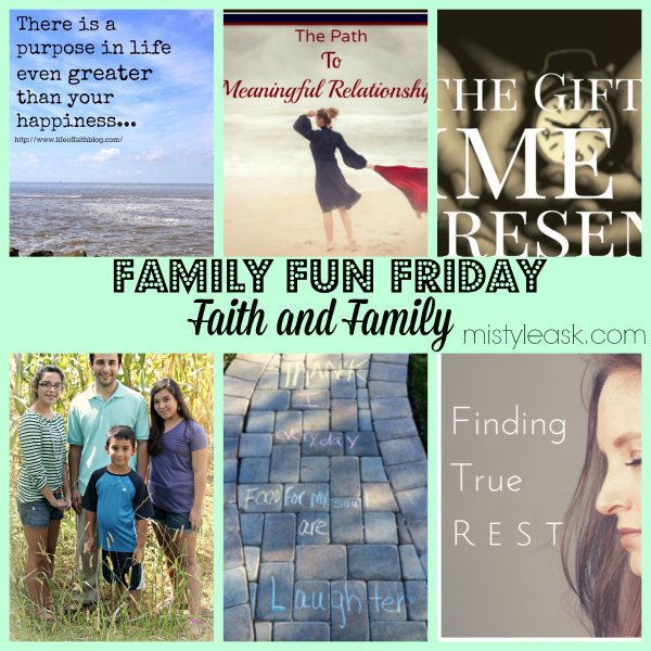 Life is all about faith and family, check out these great features on those topics.