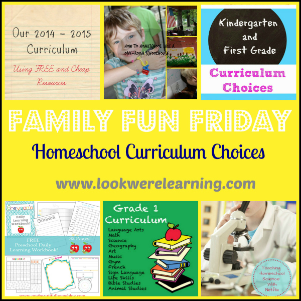 Check out the great curriculum choices here!