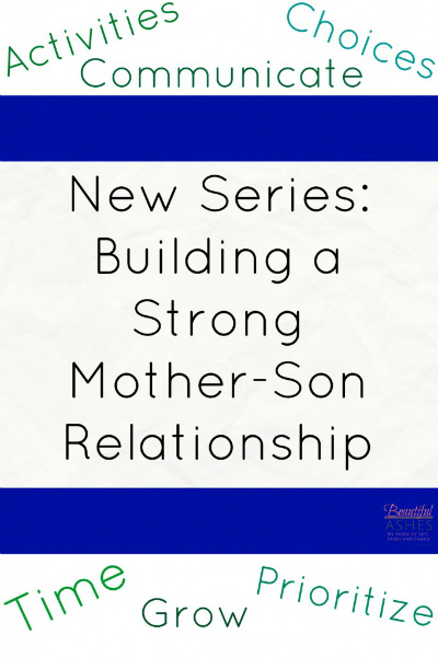 Mothers and sons need to have strong relationships