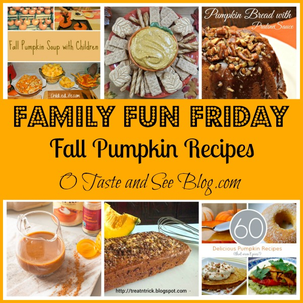Check out these yummy fall pumpkin recipes!