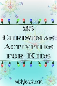 25 Christmas Activities for Kids