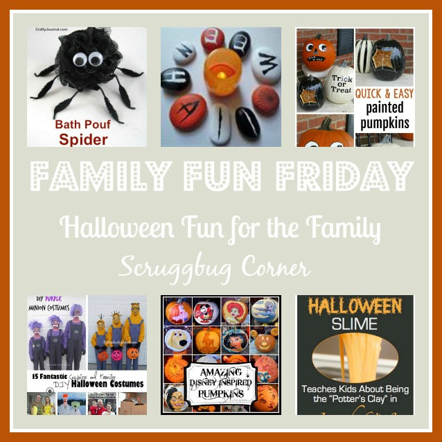 Fun ideas for halloween for your family.