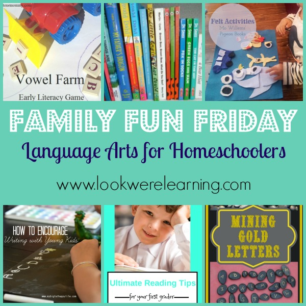 Check out Selena's features for homeschooling language arts!