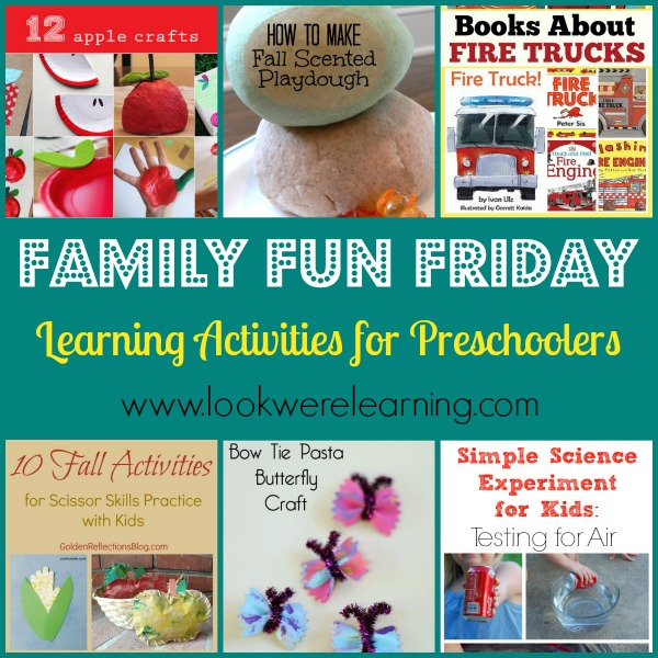 Preschool learning activities are lots of fun!