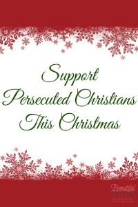 Support Persecuted Christians This Christmas