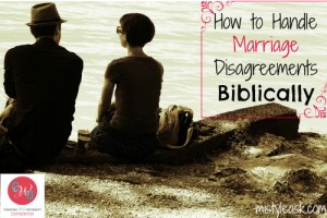 How to Handle Marriage Disagreements Biblically