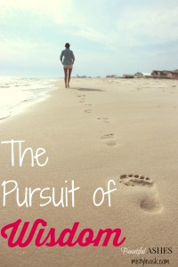 The Pursuit of Wisdom - By Misty Leask