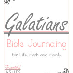 Galatians Bible Journaling Pack