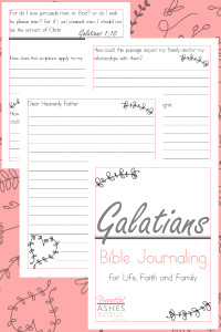 Galatians Bible Journaling, Galatians Bible Study for women, Galatians Bible Study
