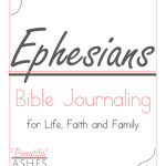 Ephesians Bible Journaling