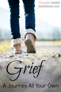 grief a journey all your own, grief journey, grief