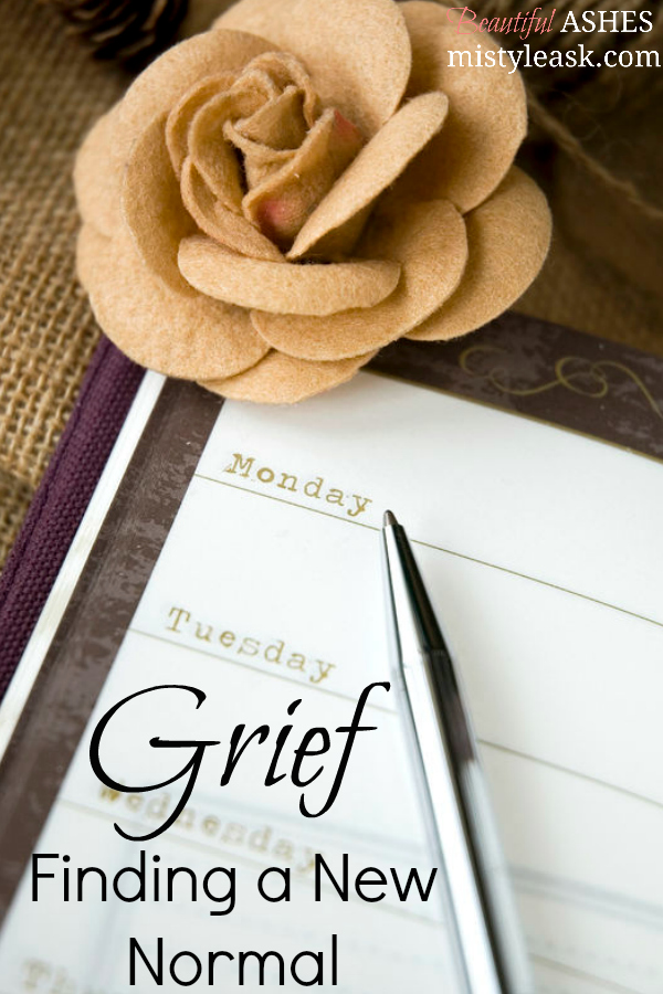grief, a new normal