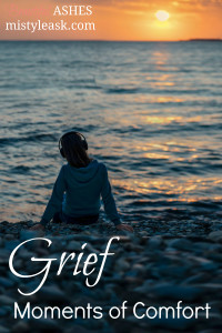 grief, moments of comfort, finding comfort in grief