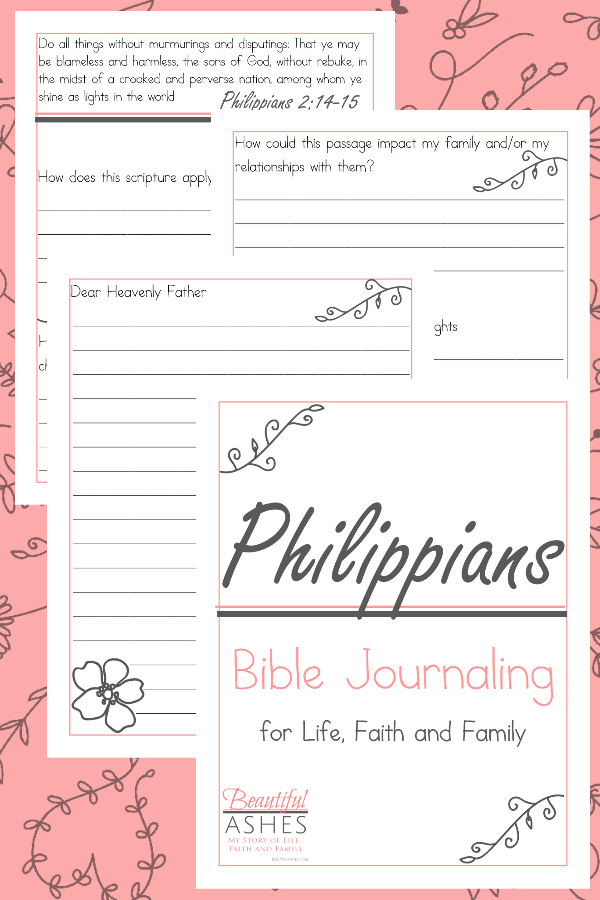 Philippians Bible Journaling, Philippians Bible Study for women, Philippians Bible Study