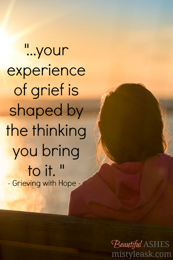 grieving with hope, grief journey, grief