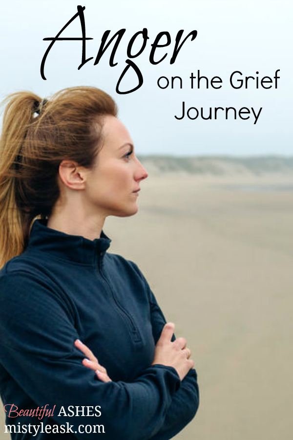 Anger on the Grief Journey - By Misty Leask
