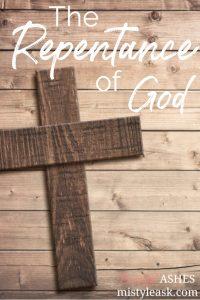 the repentance of God, repentance of God, God's repentance